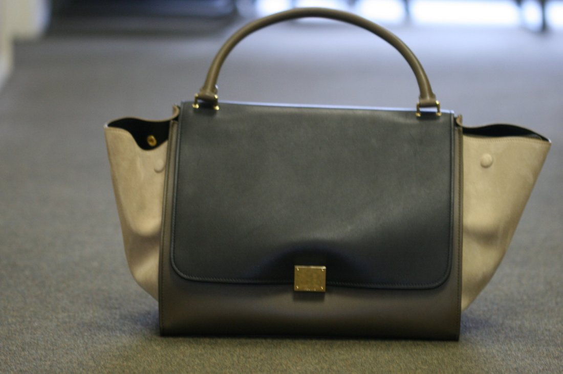 CELINE PARIS MADE IN ITALY LARGE HANDBAG
