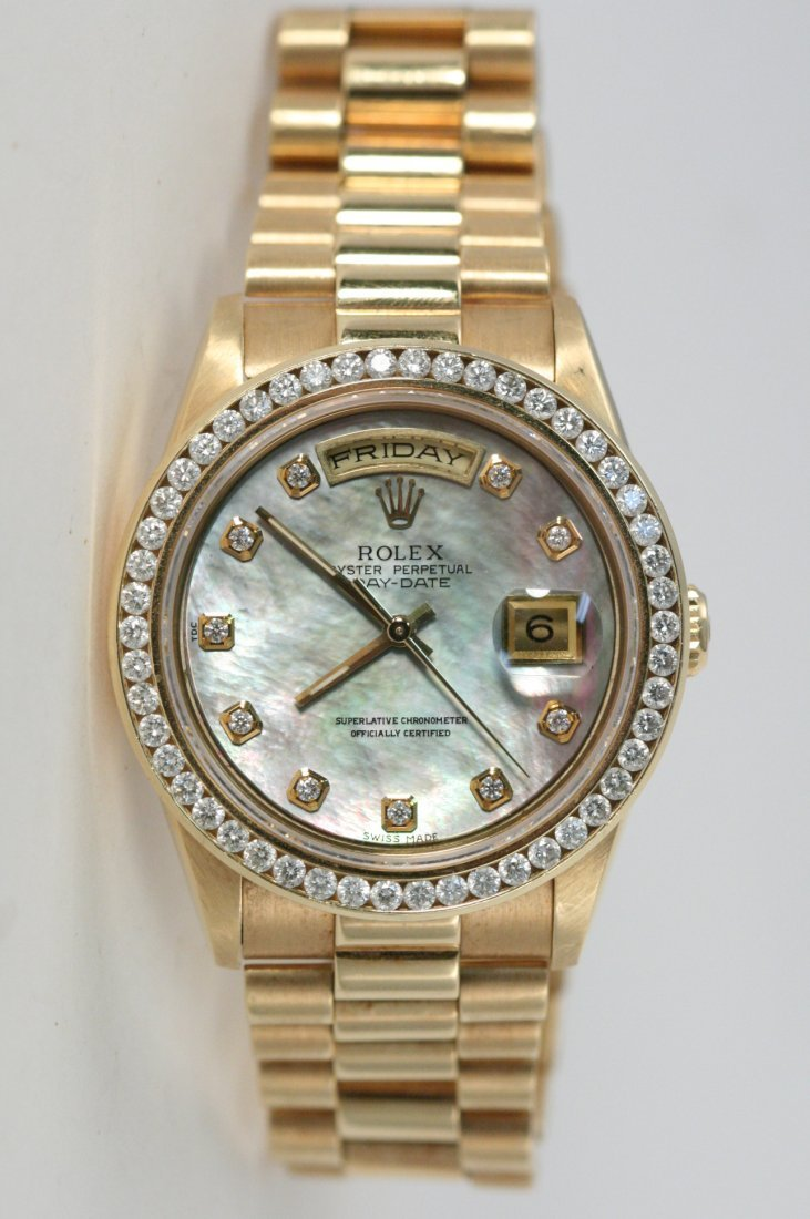 ROLEX PRESIDENT OYSTER PERPETUAL  WATCH