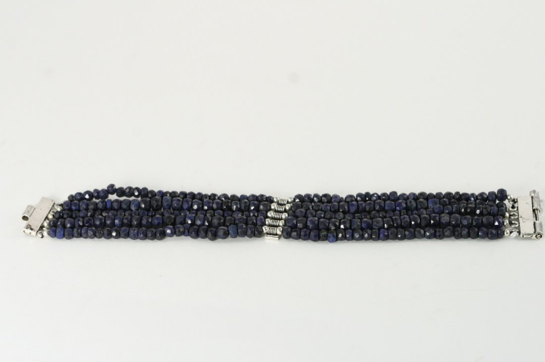 STUNNING ALL NATURAL SAPPHIRE BRACLET