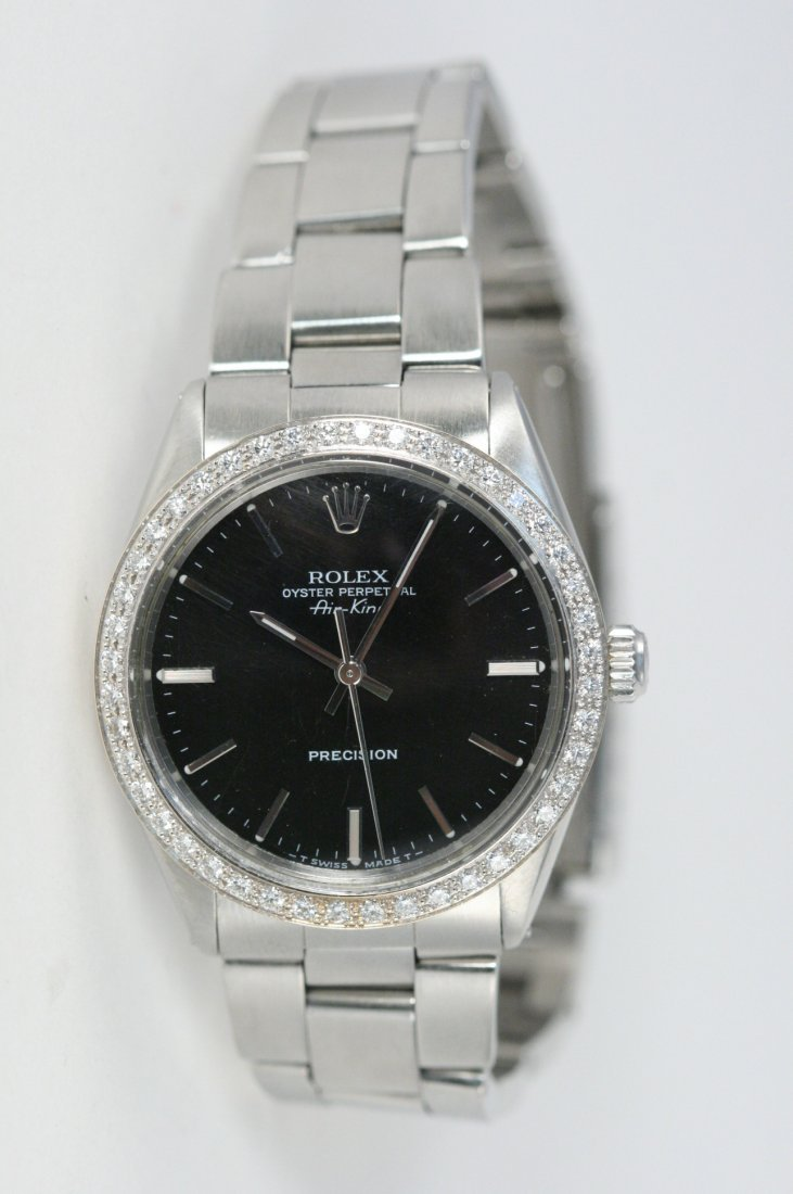 ROLEX OYSTER PERPETUAL AIR KING PRECISION WATCH WITH