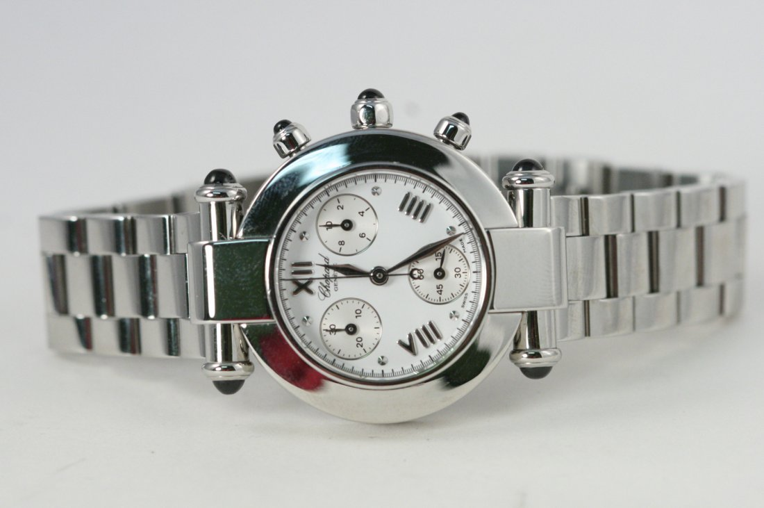 CHOPARD IMPERIAL GENEVE WATCH WITH WHITE FACE