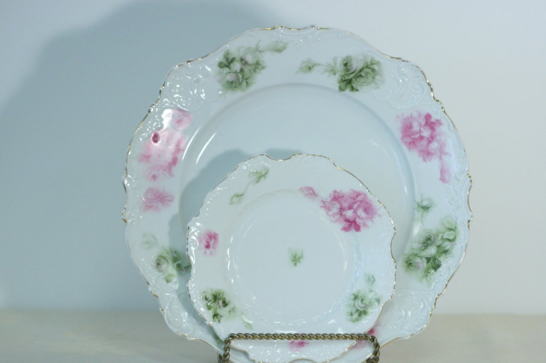 Elysee, German gorgeous round platter with matching