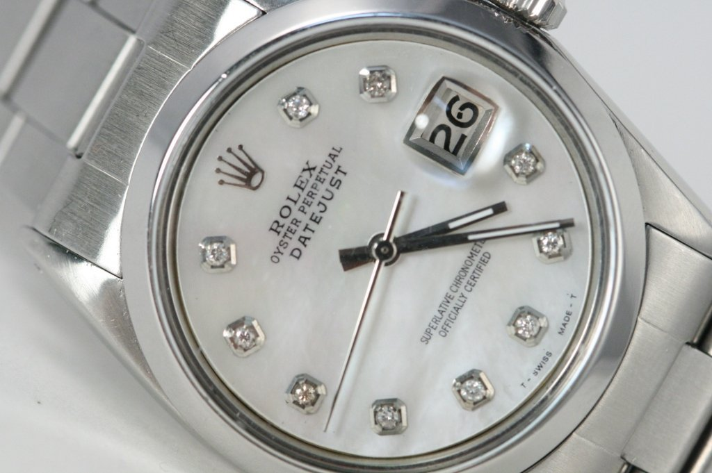 Men's Rolex Datejust stainless steal