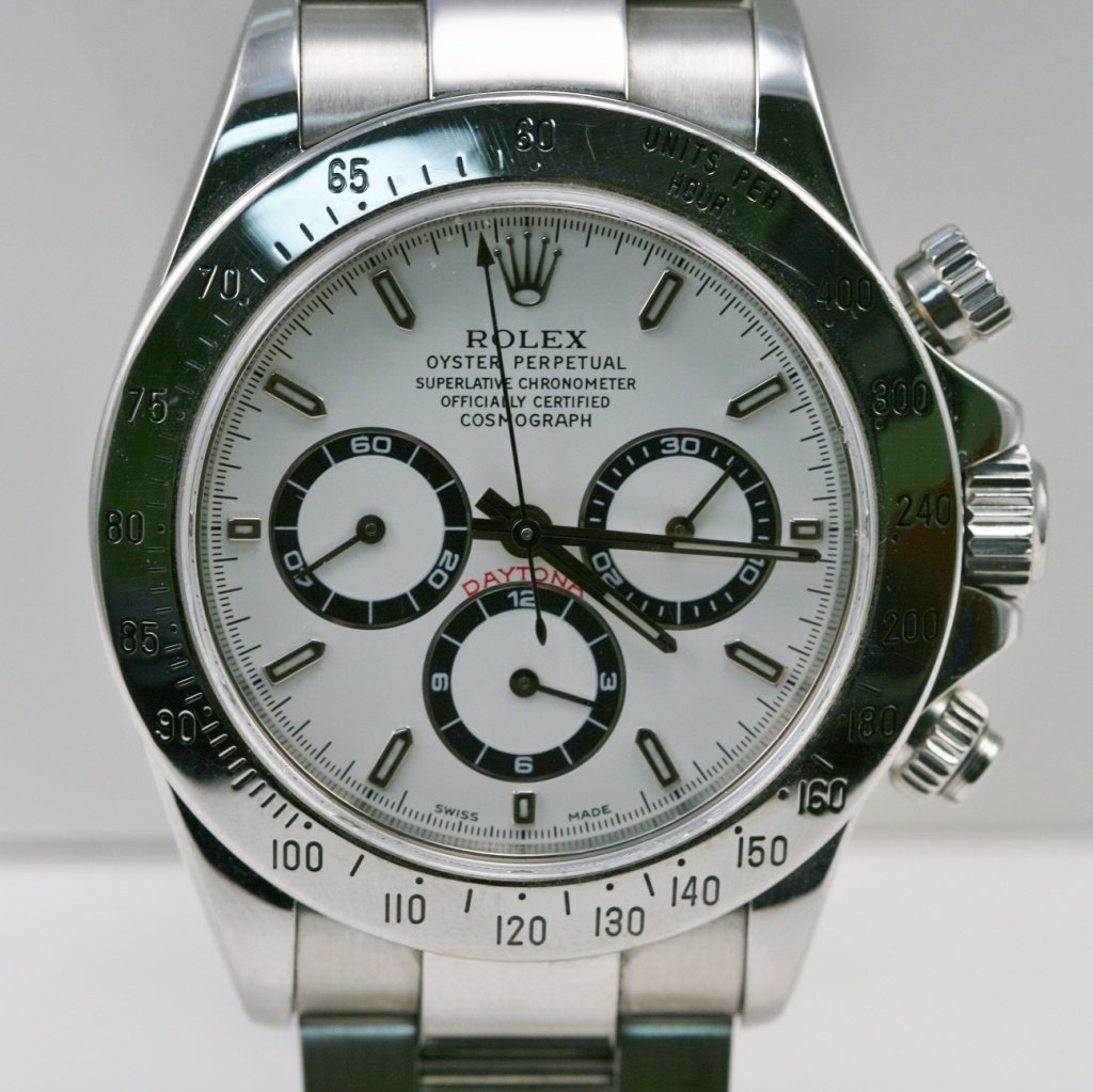 MEN'S ROLEX DAYTONA - STAINLESS STEEL WATCH