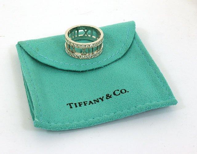 DESIGNER TIFFANY & CO. 18K GOLD & DIAMONDS LADIES ATLAS