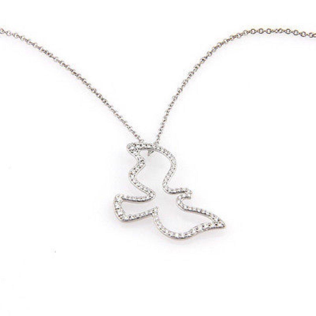 40977b1bd Tiffany& Co. Paloma Picasso 18K White Gold Diamond Dove - Jul 06, 2014 |  Platinum Auction Group in FL