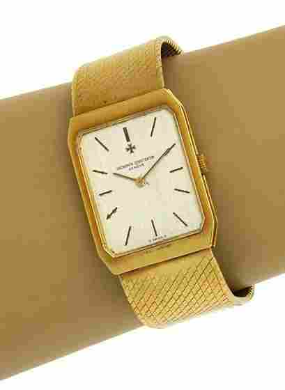 BEAUTIFUL VINTAGE VACHERON CONSTANTIN 18K WRIST WATCH