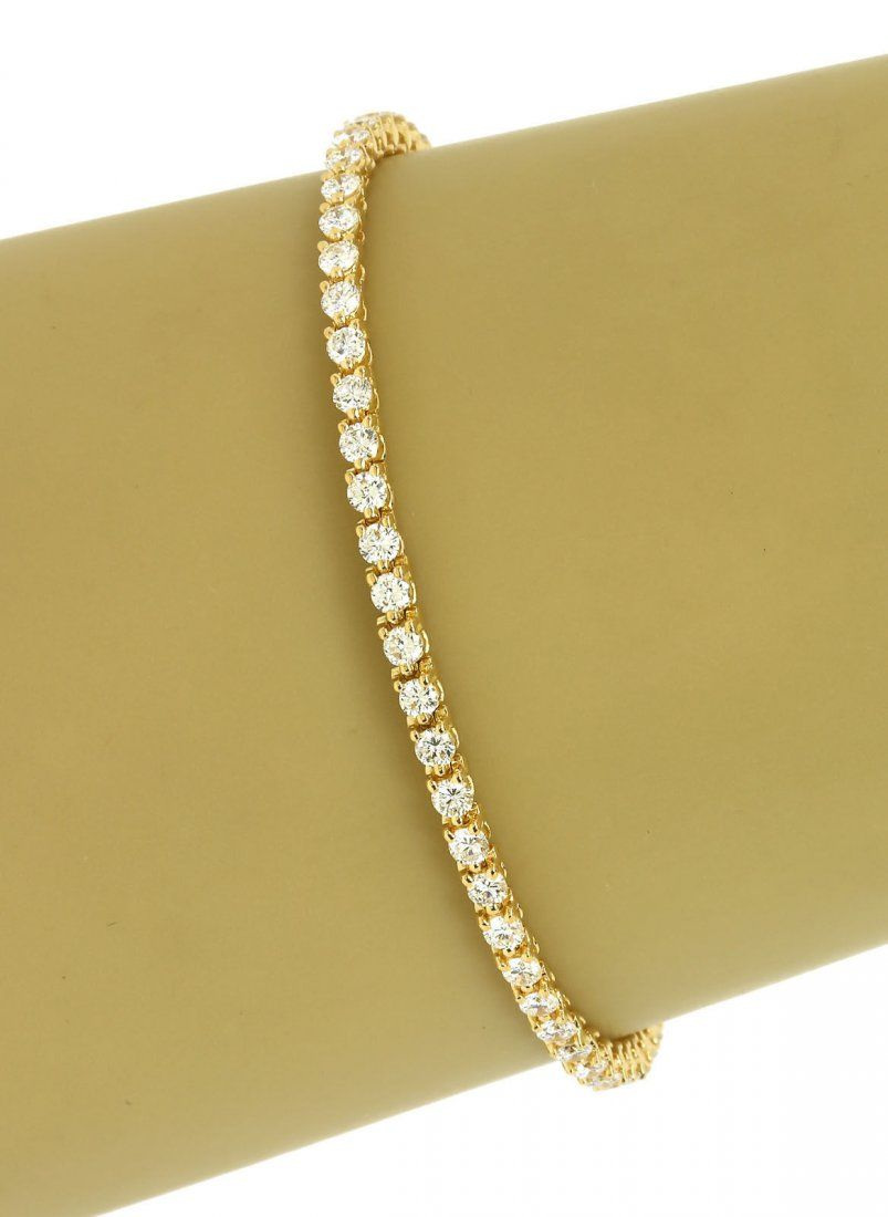 FRENCH MADE DESIGNER CARTIER 18K GOLD & 3.02 CTS