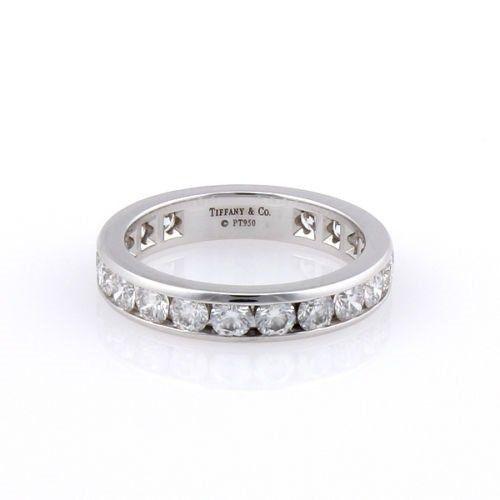TIFFANY & CO. PLATINUM 1.80CT DIAMOND WEDDING ETERNITY