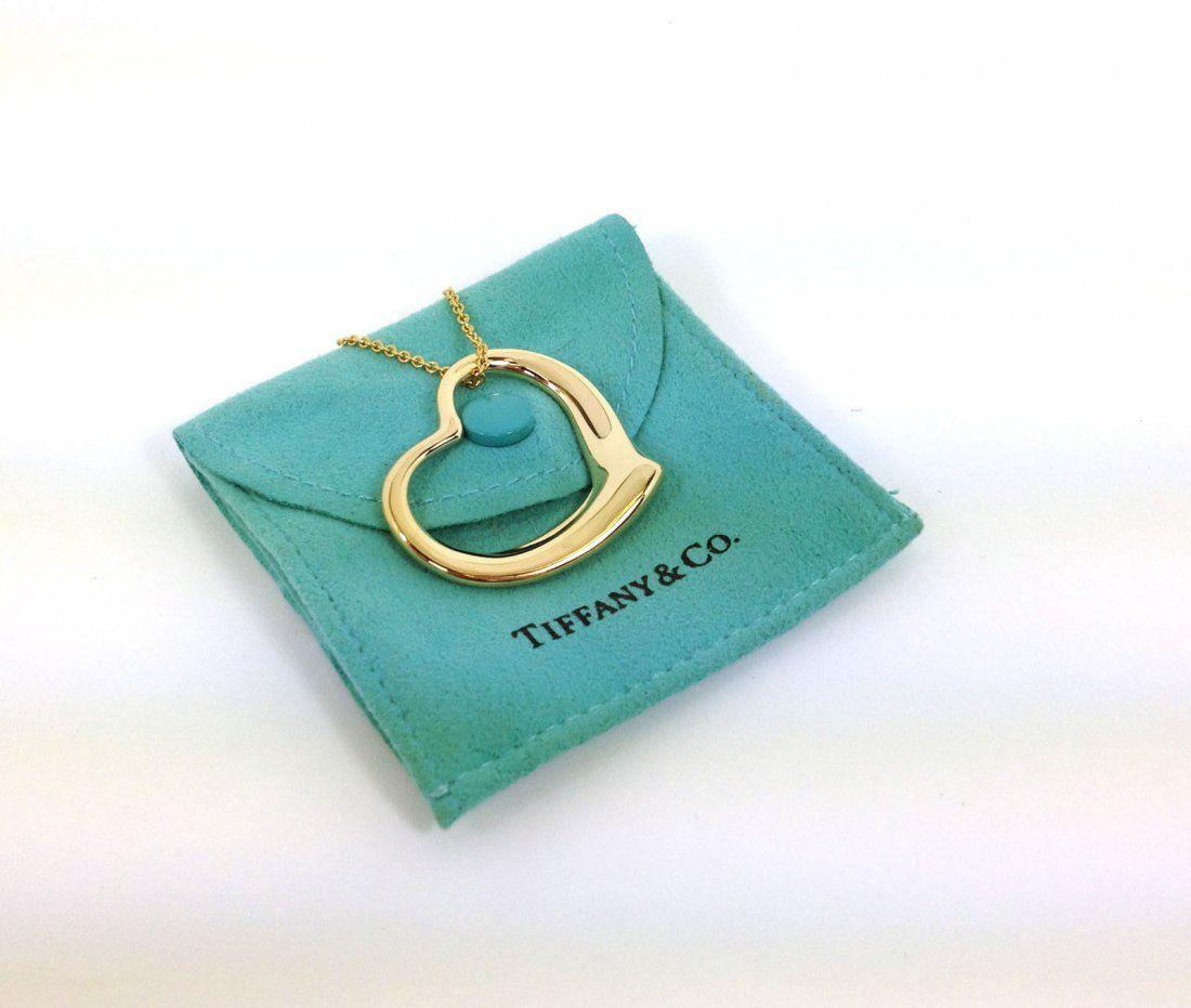 TIFFANY & CO. ELSA PERETTI 18K GOLD LADIES LARGE OPEN