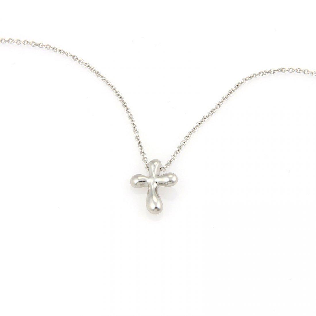 Tiffany & Co. Elsa Peretti Small Cross Pendant in