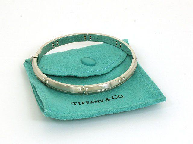 DESIGNER TIFFANY & CO. STREAMERICA 18K GOLD & DIAMONDS