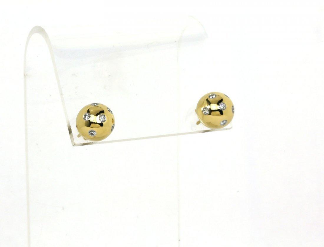 DESIGNER TIFFANY & CO. ETOILE 18K GOLD, PLATINUM &