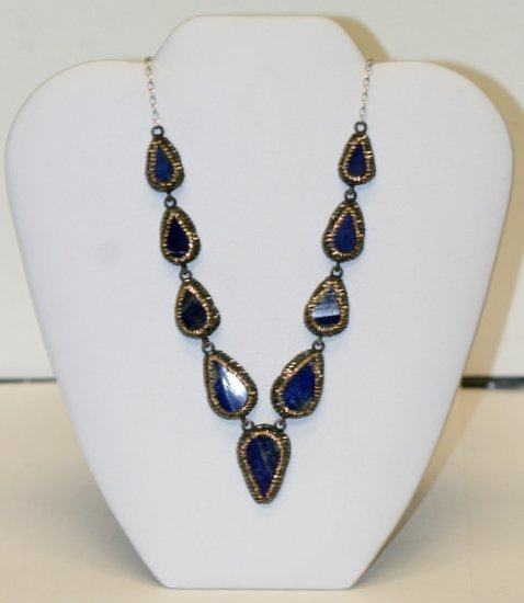 DESIGNER LAPIS NECKLACE