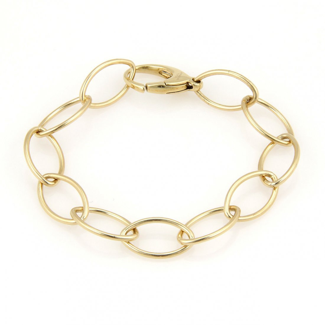 Tiffany & Co. Germany 18K Yellow Gold Oval Chain Link