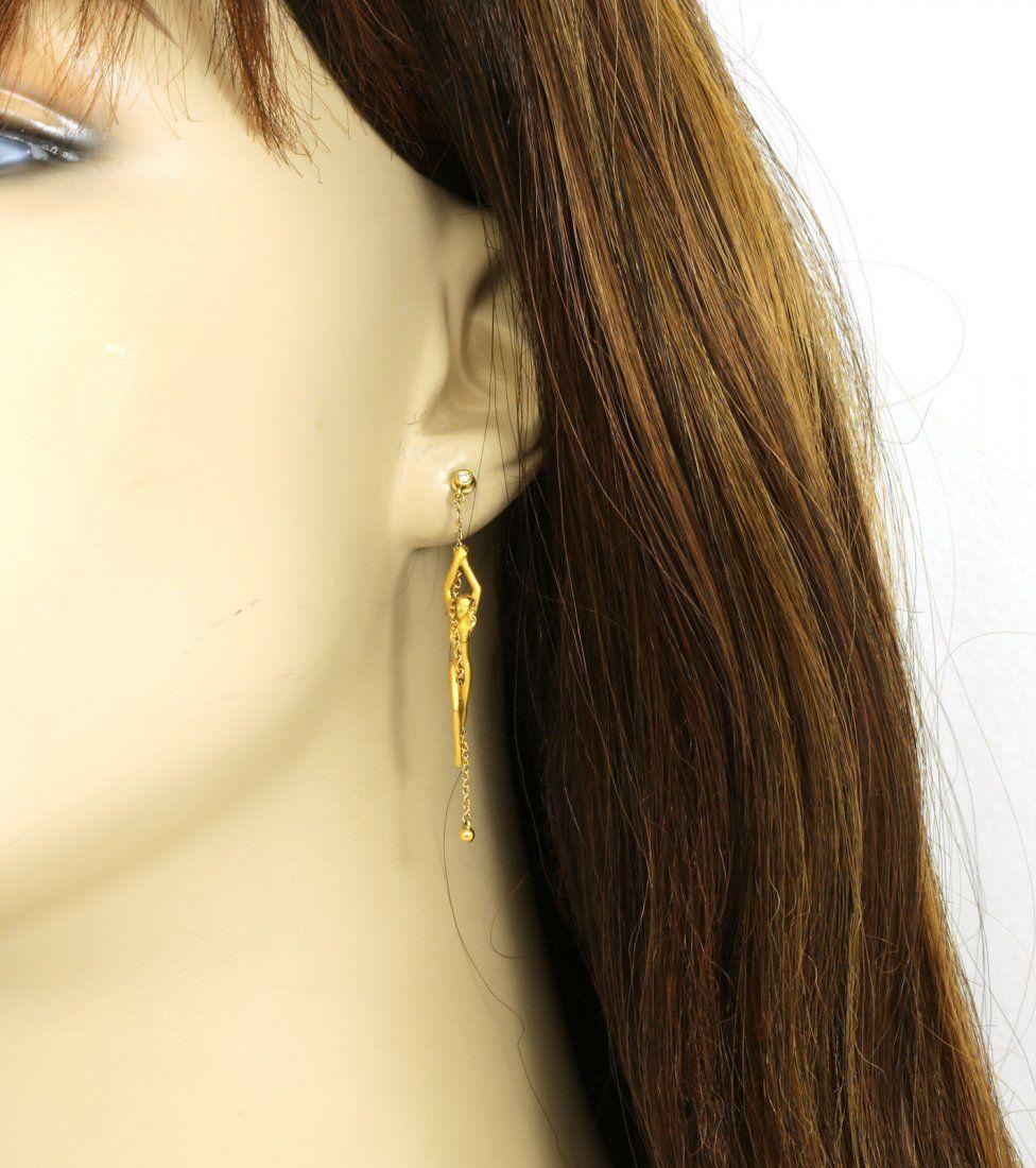 CARRERA Y CARRERA 18K YELLOW GOLD & DIAMONDS LADIES