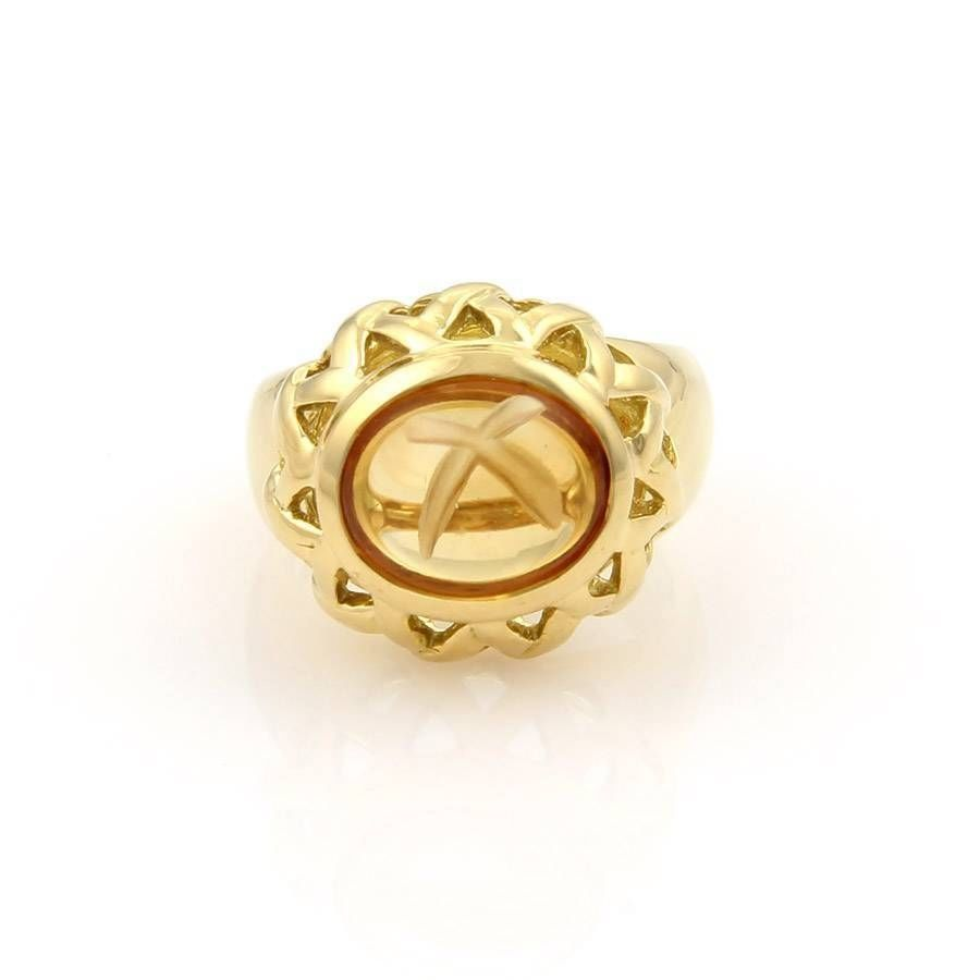 Tiffany & Co. Paloma Picasso 18k Yellow Gold & Cabochon