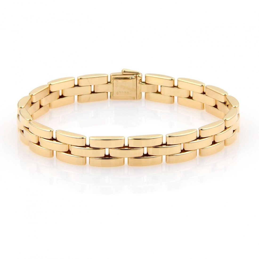 Cartier 18kt Yellow Gold Maillon Panthere Bracelet With