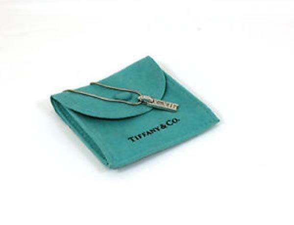 Tiffany & Co. 18k White Gold & Diamond Atlas Roman
