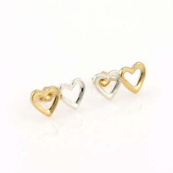 Tiffany & Co. 18K Yellow Gold & Sterling Silver Double