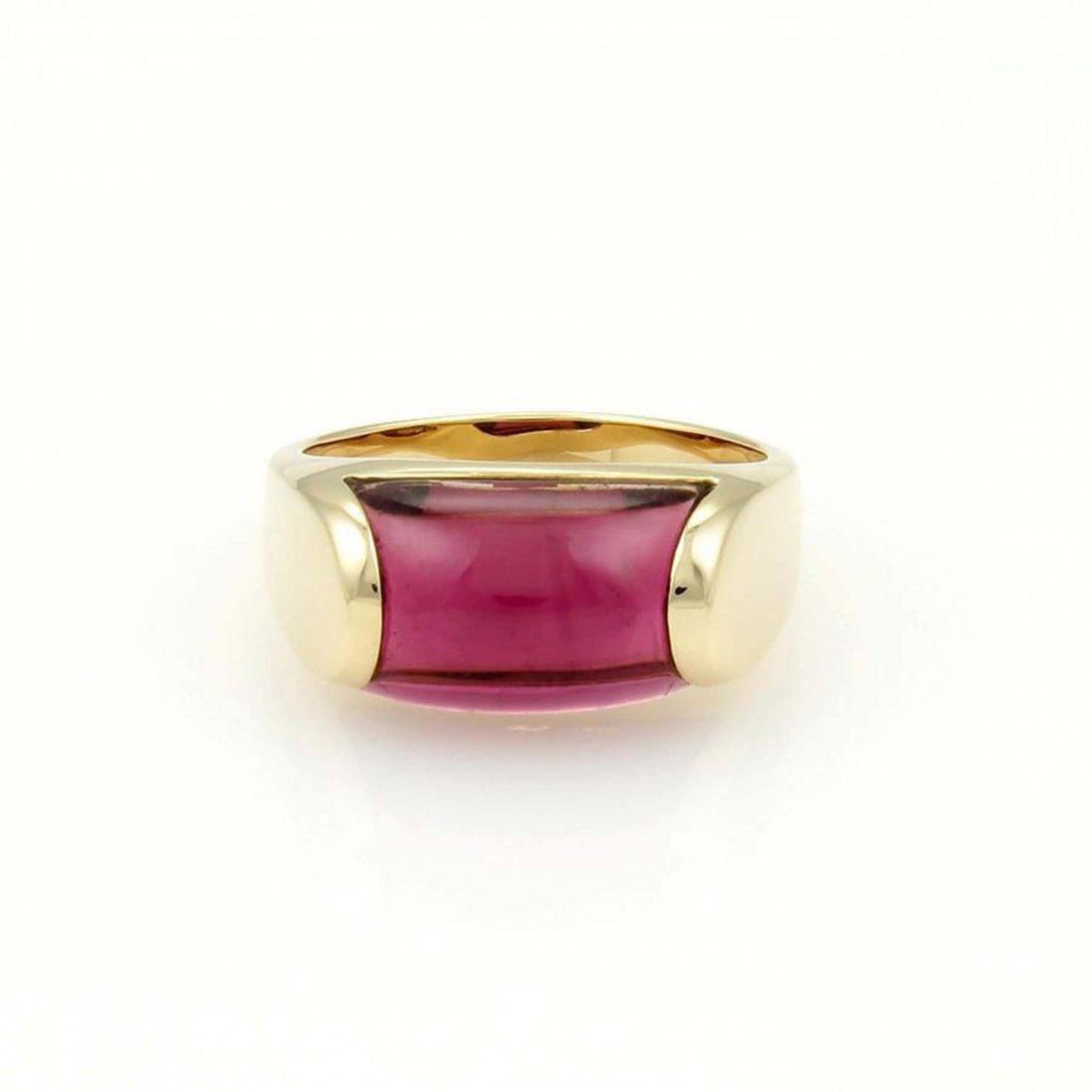 Buglari Bvlgari Tronchetto 18k Y/Gold & 8ct Pink