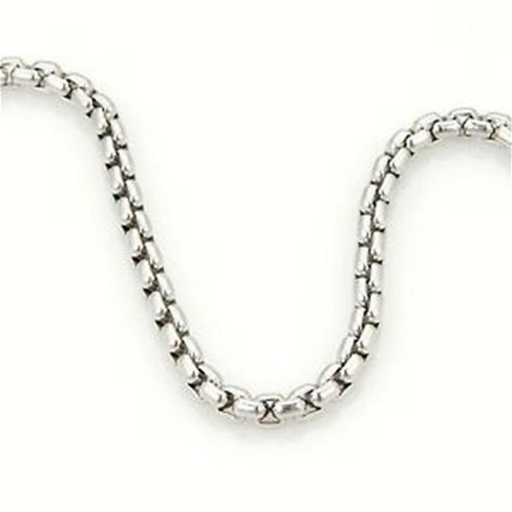 c7be5dda932 Tiffany   Co. 18k White Gold Box Belcher Chain Link