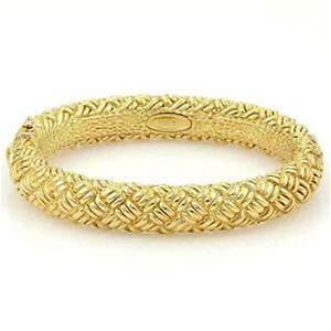 Chimento Estate 18K Yellow Gold  Basket Weave Design