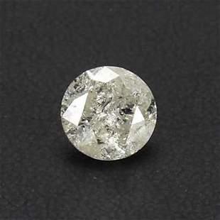 Estate Loose 2.12 Carat Natural Round Cut Diamond