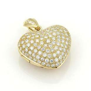 Stunning 18k Yellow Gold 4.50ct Round Cut Diamonds