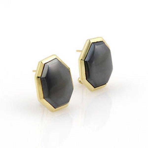 Tiffany & Co. 18K Yellow Gold Hematite Designer