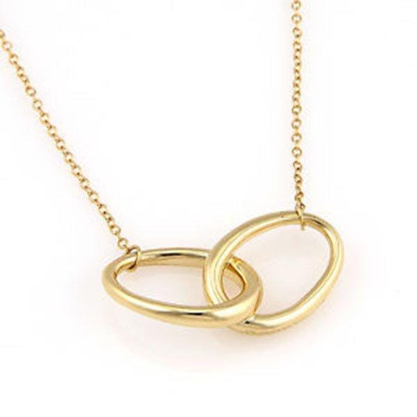 Tiffany & Co. Elsa Peretti 18K Yellow Gold Circle