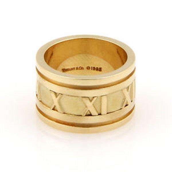 Tiffany & Co. Italy 18K Yellow Gold 12mm ATLAS