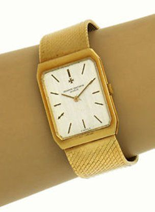 Vacheron Constantin Vintage 18k Yellow Gold 5 Position