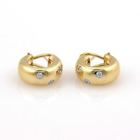 Tiffany & Co. 18K Yellow Gold & Platinum Etoile Diamond