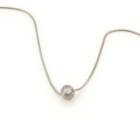 Tiffany & Co. 18K White Gold Streamerica Diamond