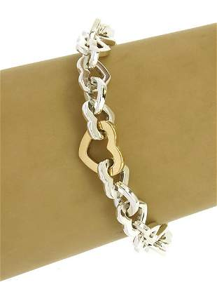 Tiffany & Co 18k Yellow Gold & Sterling 925 Silver