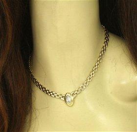Beautiful 14k Yellow Gold 1.18ct Marquise Cut Diamond