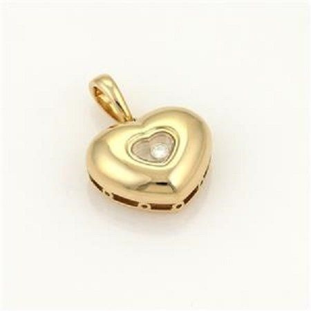 Chopard Happy Diamond 18k Yellow Gold Heart Pendant