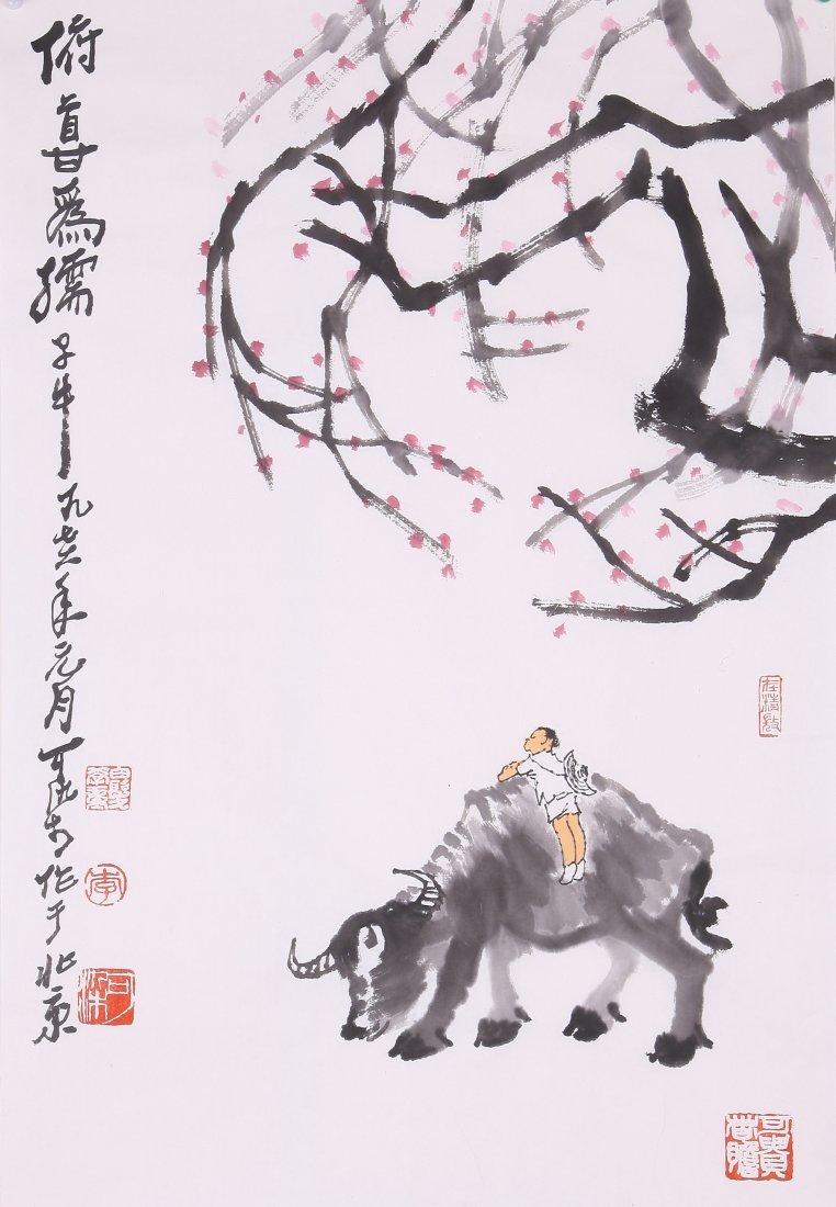 6107: A very fine Chinese paintings attribyted to Li Ke