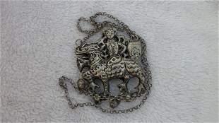Ancient Silver Lock