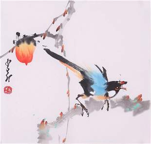 Chinese painting by Zhao Shoang
