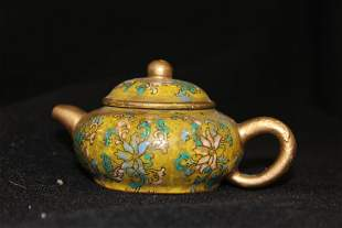 CHINESE SAND TEAPOT