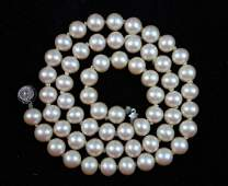 Vintage Natural Pearl Bead Necklace