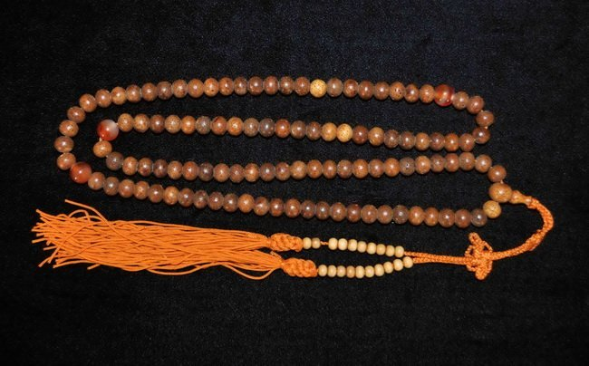 22: Chinese Carved Wood Rosary