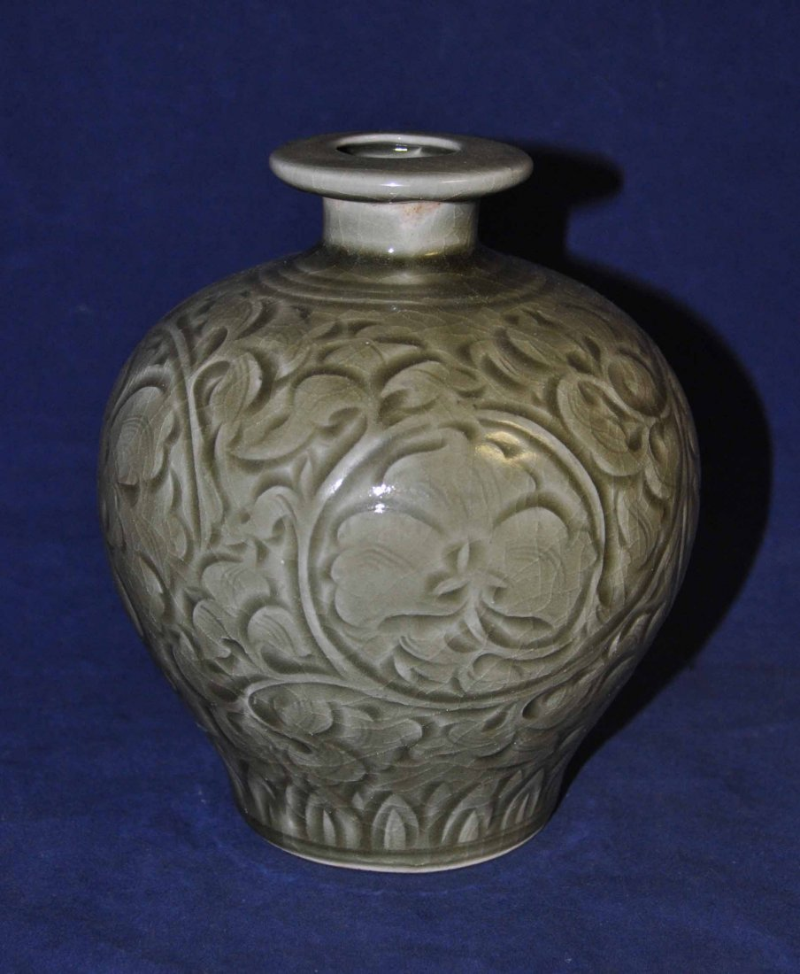 7: Chinese porcelain bottle