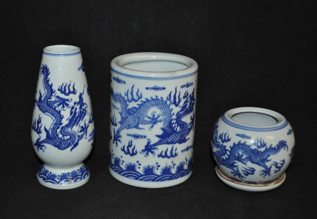 11: Chinese Porcelain Bottles Set