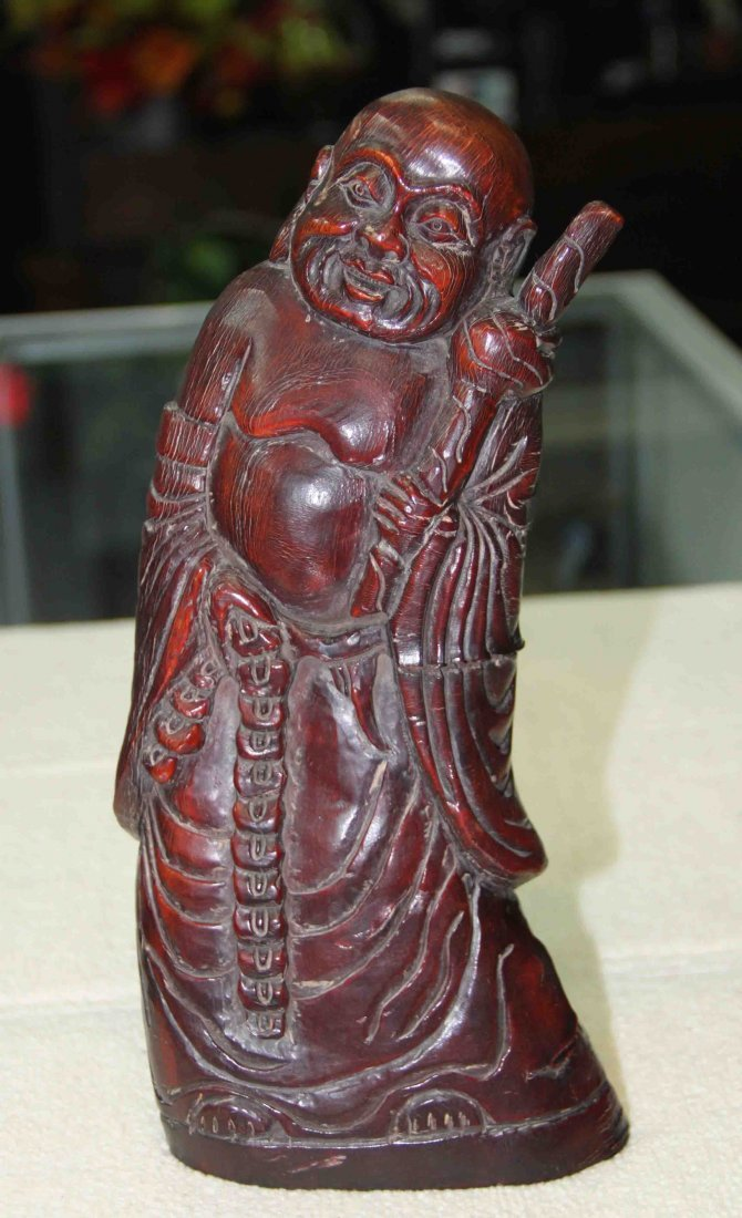 17: Chinese Carved Horn Statue