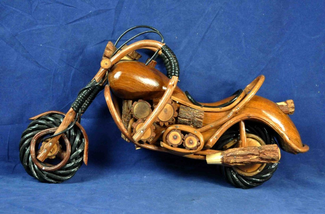 17A: Wood Motorcycle