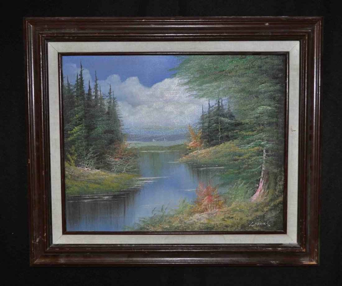 Oil Painting w. Frame