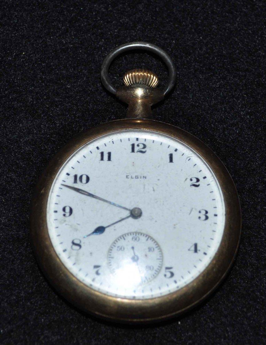 Elgin Bronze Pocket Watch